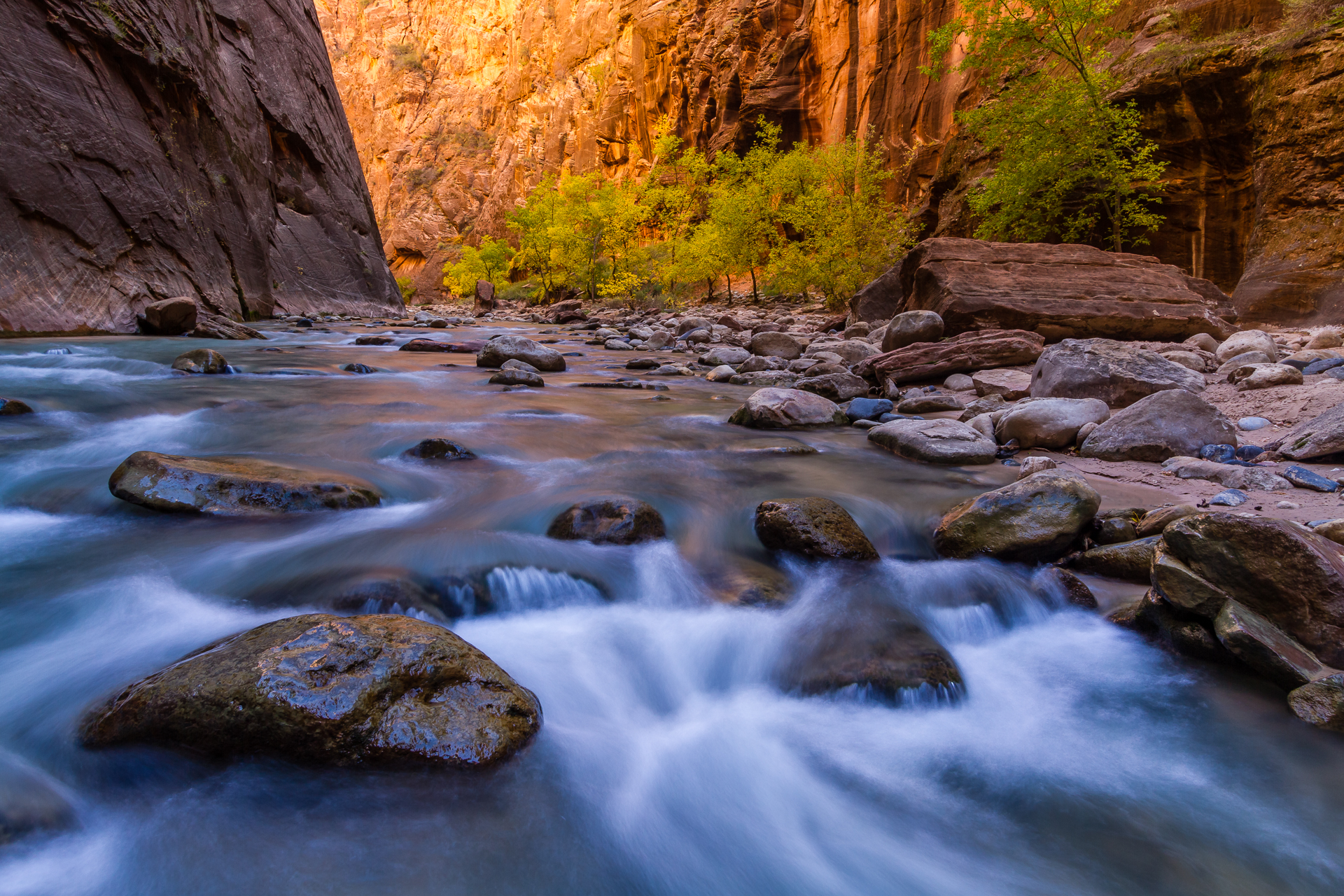 Zions Narrows - Glory Landscape Photography